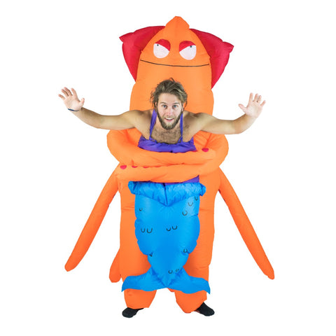 Bodysocks - Inflatable Squid Monster Costume