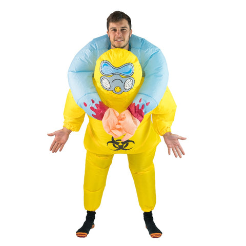 Bodysocks - Inflatable Biohazard Costume