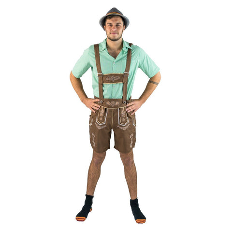 Bodysocks - Men's Lederhosen Costume