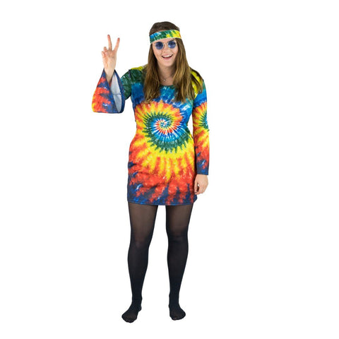 Bodysocks - Women's Hippie Costume