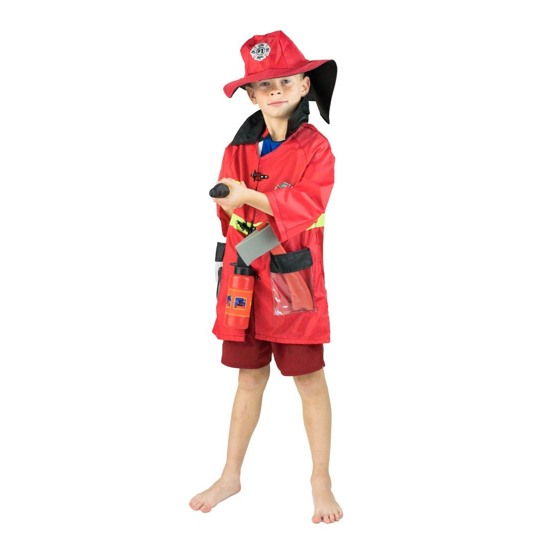 Bodysocks - Kids Firefighter Costume