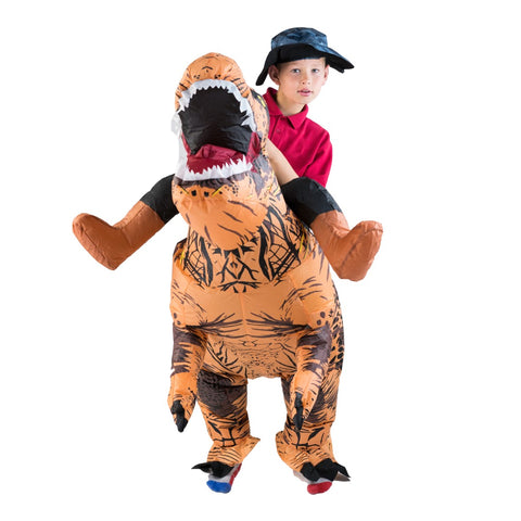 ... Kids Inflatable Lift You Up Deluxe Dinosaur Costume