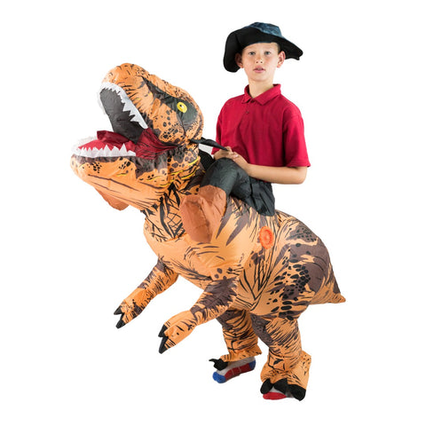 Bodysocks - Kids Deluxe Inflatable Dinosaur Costume