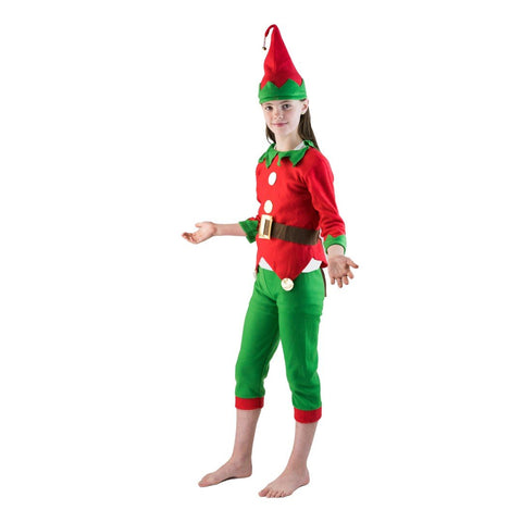 Bodysocks - Kids Elf Costume