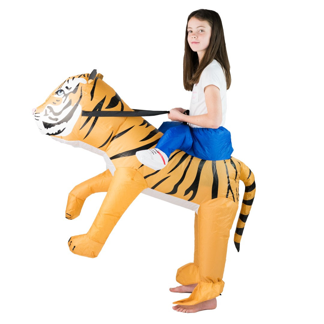 Bodysocks - Kids Inflatable Tiger Costume