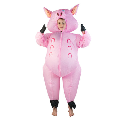 Bodysocks - Kids Inflatable Pig Costume