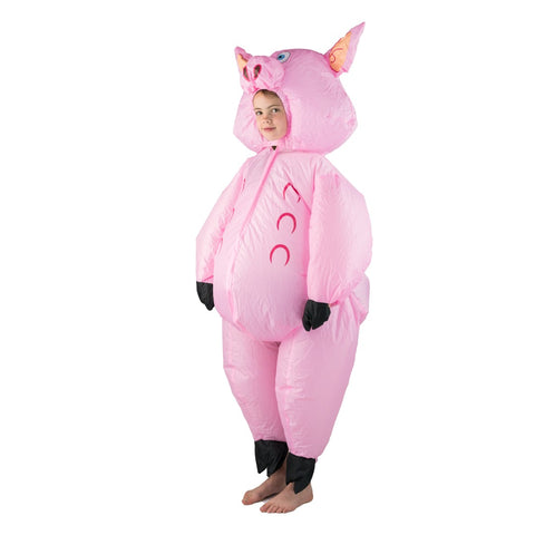 Kids Inflatable Pig Costume
