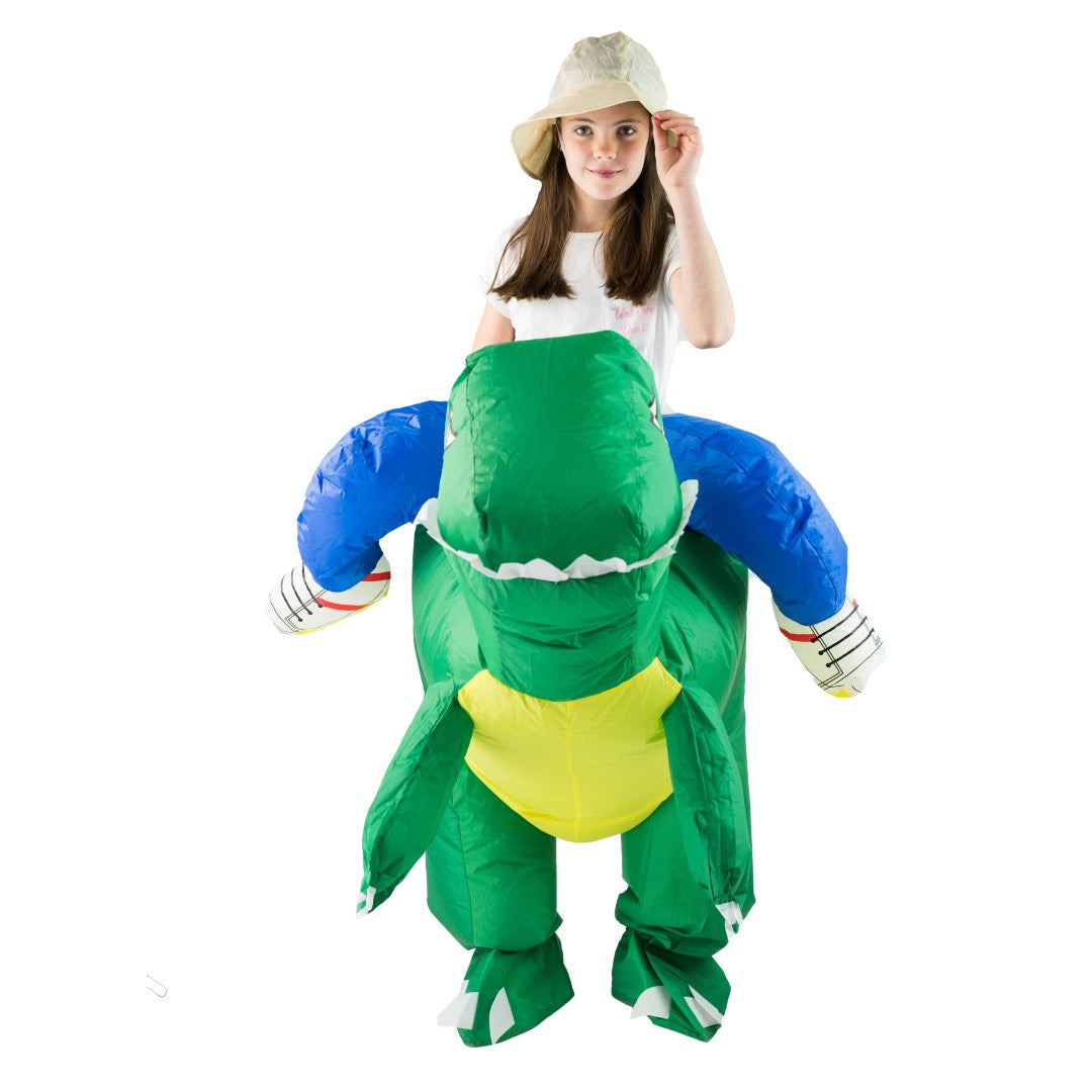 Bodysocks - Kids Inflatable Dinosaur Costume