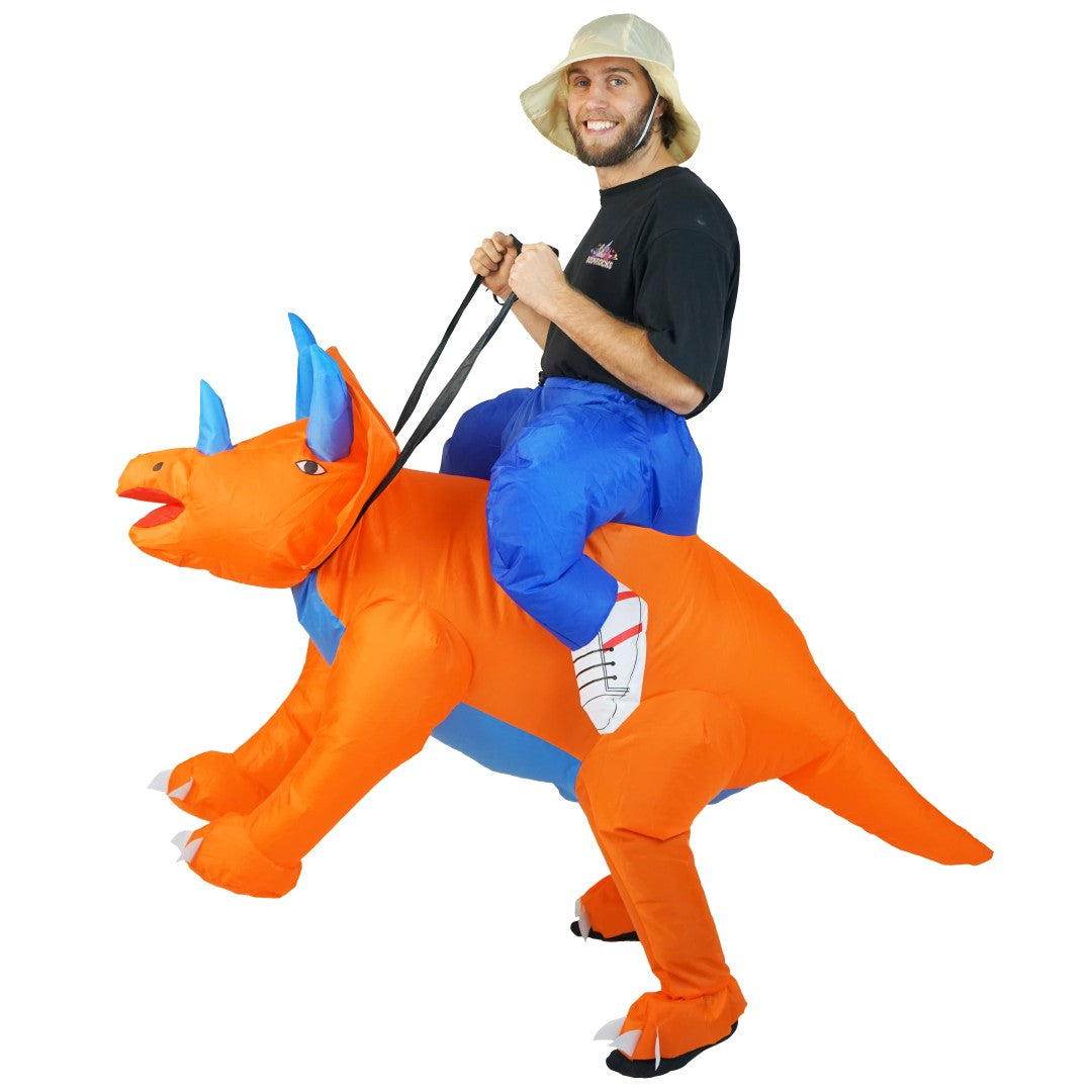 Bodysocks - Inflatable Triceratops Costume