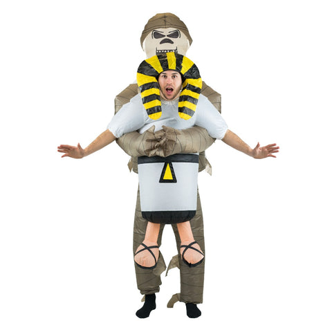 Inflatable Lift You Up Mummy Costume