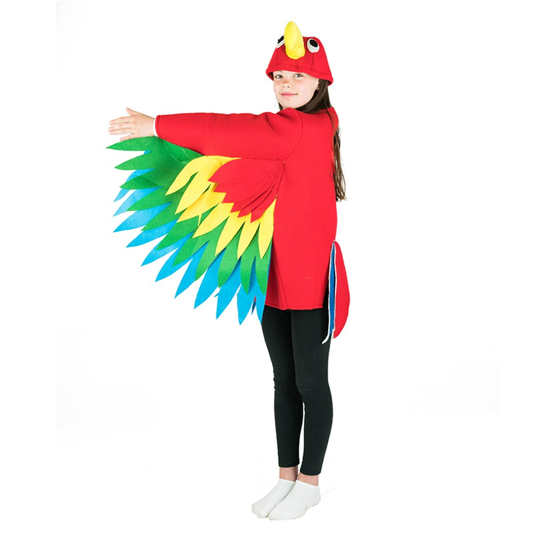 Bodysocks - Kids Parrot Costume