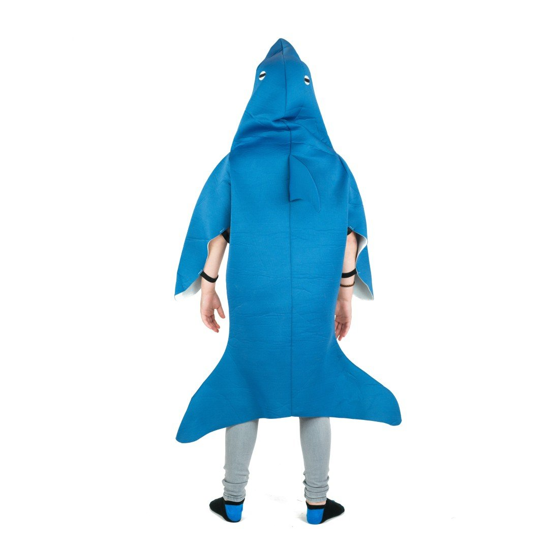 Bodysocks - Kids Shark Attack Costume
