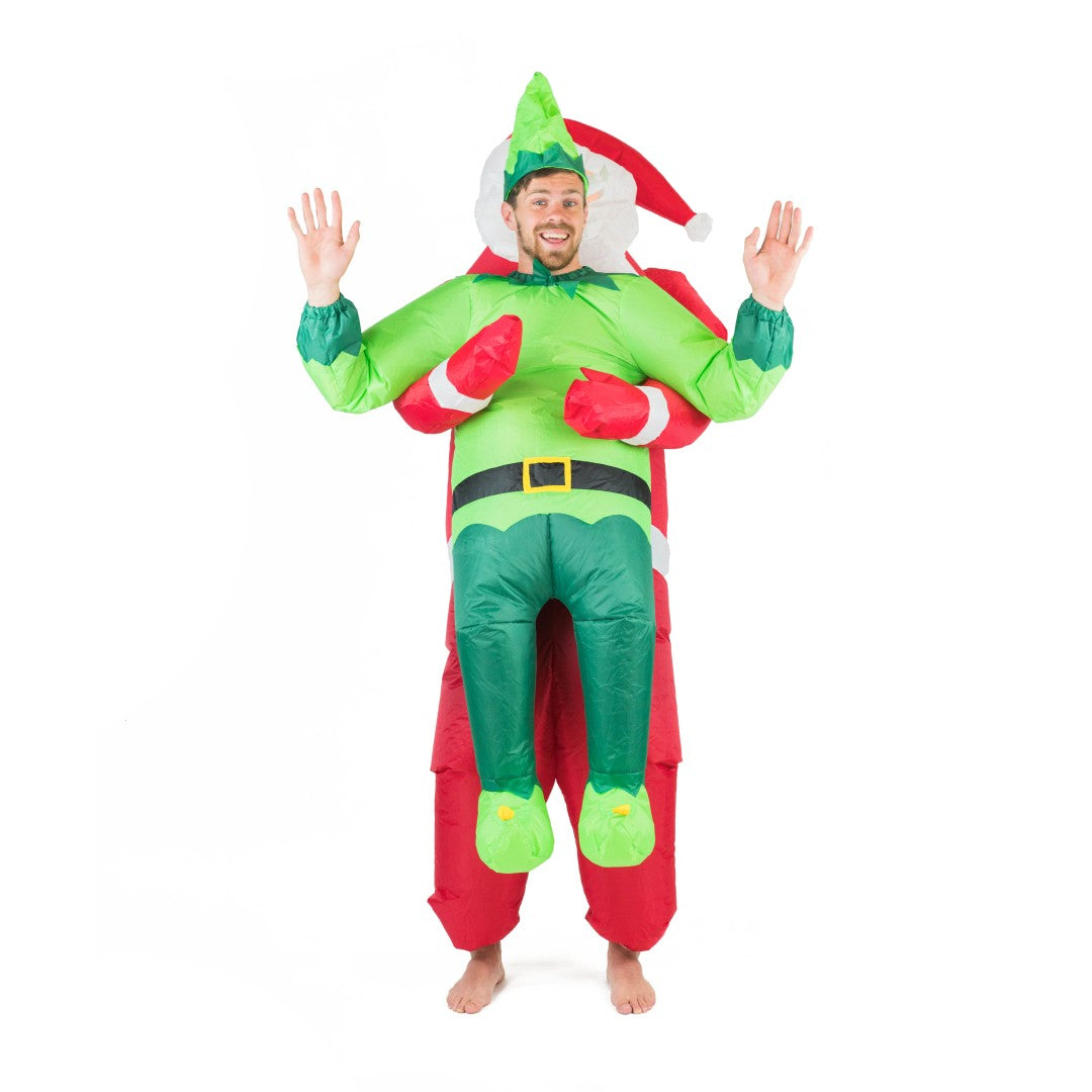 Bodysocks - Inflatable Santa & Elf Costume