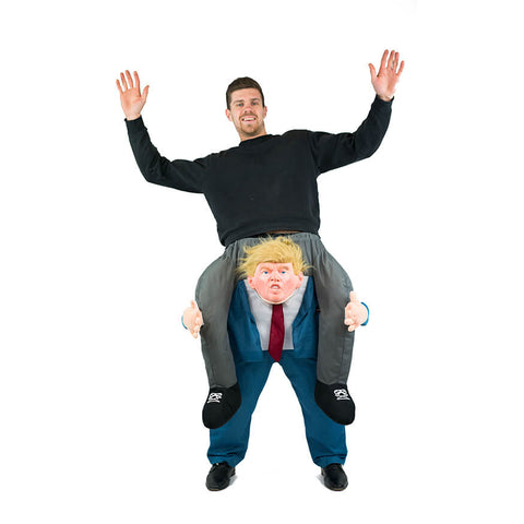 Bodysocks - Piggyback Donald Trump Costume