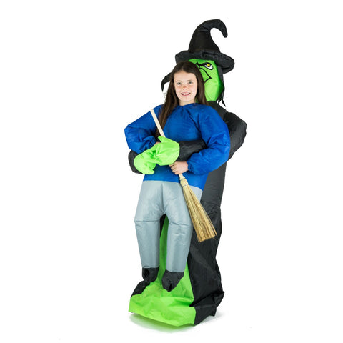 Kids Inflatable Lift You Up Witch Costume