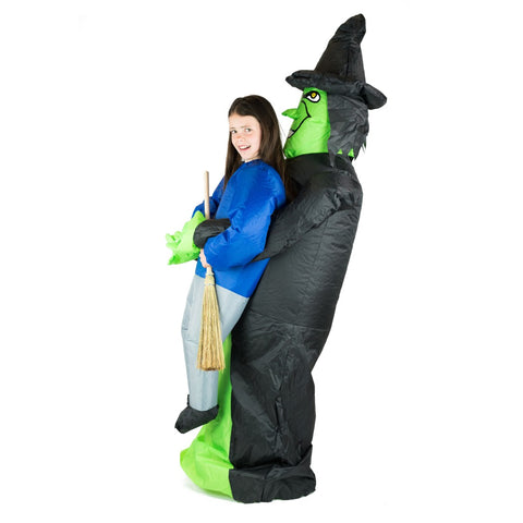 Bodysocks - Kids Inflatable Witch Costume