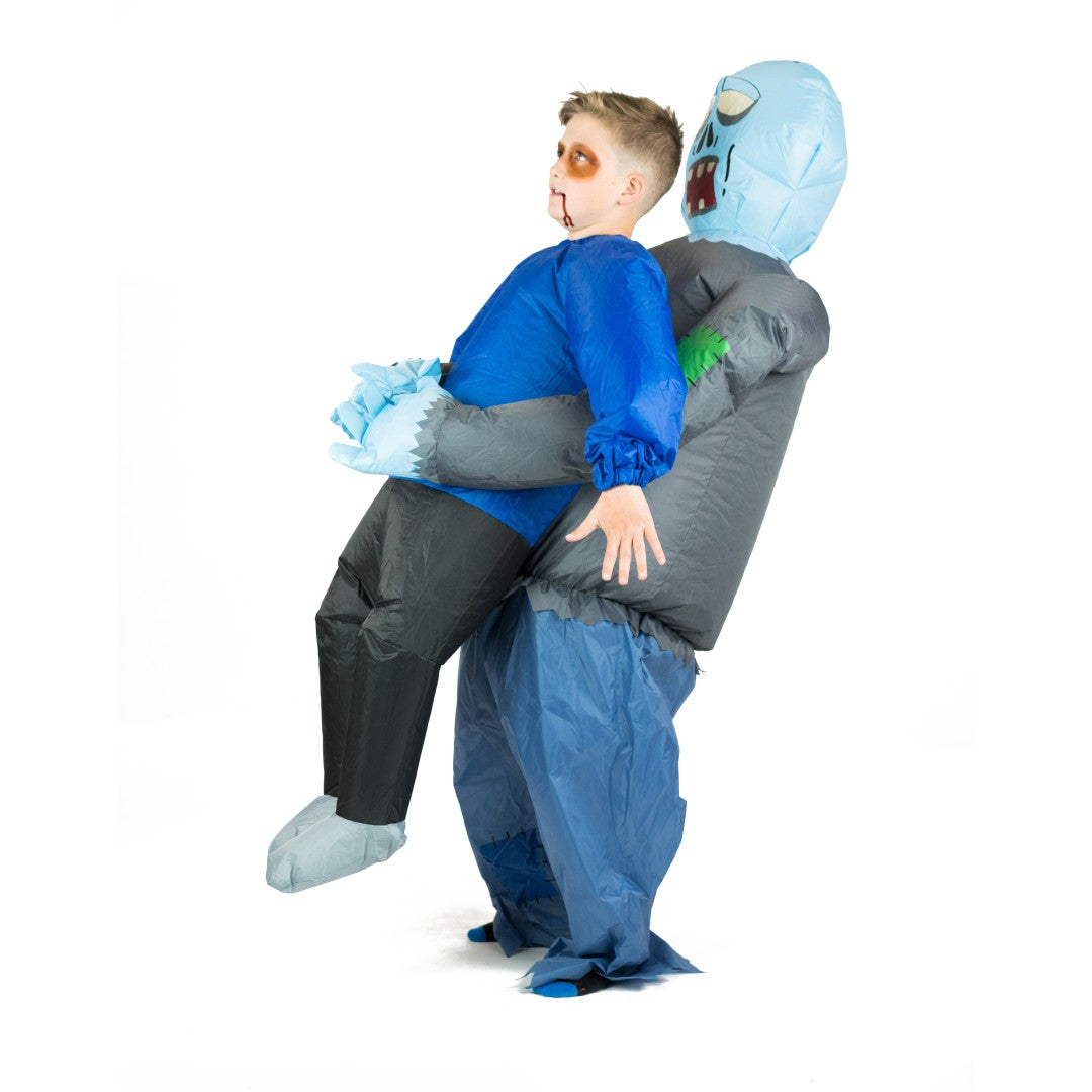 Bodysocks - Kids Inflatable Lift You Up Zombie Costume