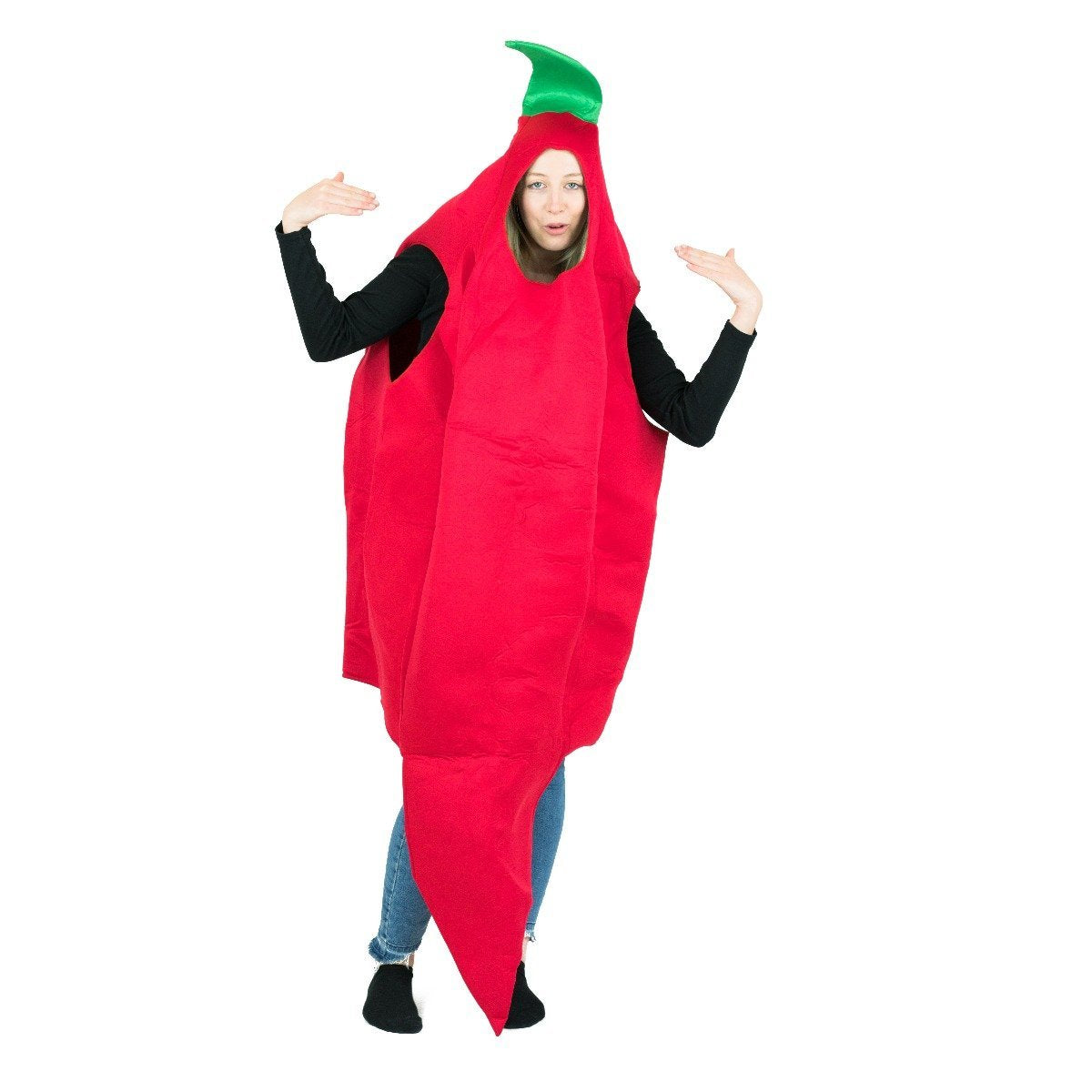 Bodysocks - Chilli Pepper Costume