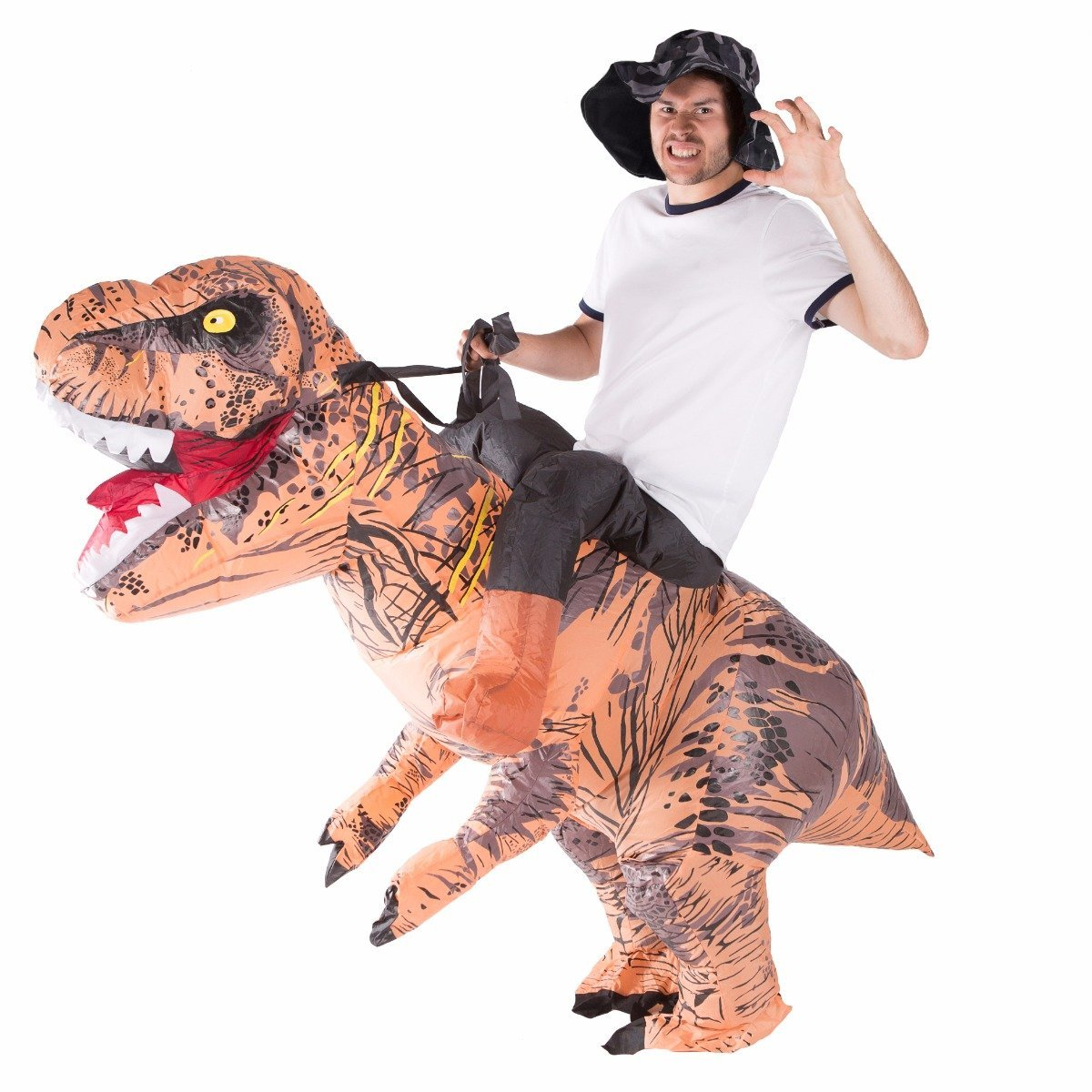 Bodysocks - Inflatable Lift You Up Deluxe Dinosaur Costume