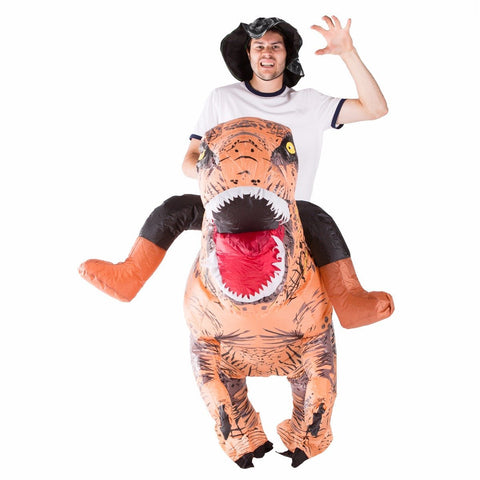 Inflatable Lift You Up Deluxe Dinosaur Costume