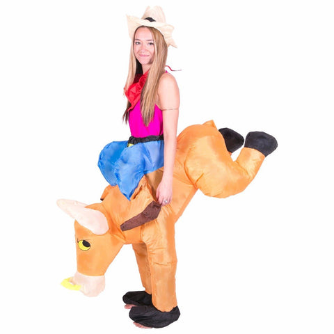 Bodysocks - Blow Me Up Inflatable Bull Costume
