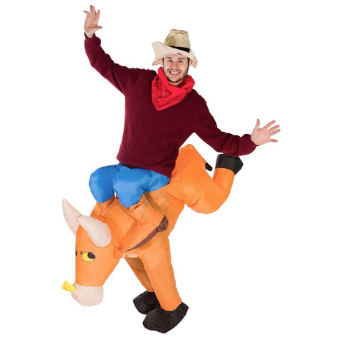 Blow Me Up Inflatable Bull Costume