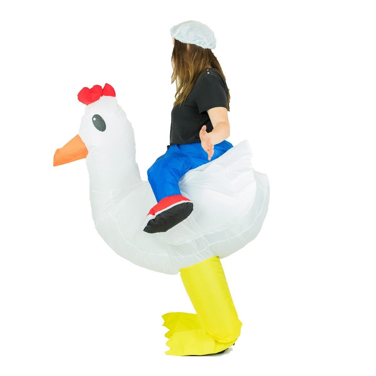 Bodysocks - Inflatable Chicken Costume