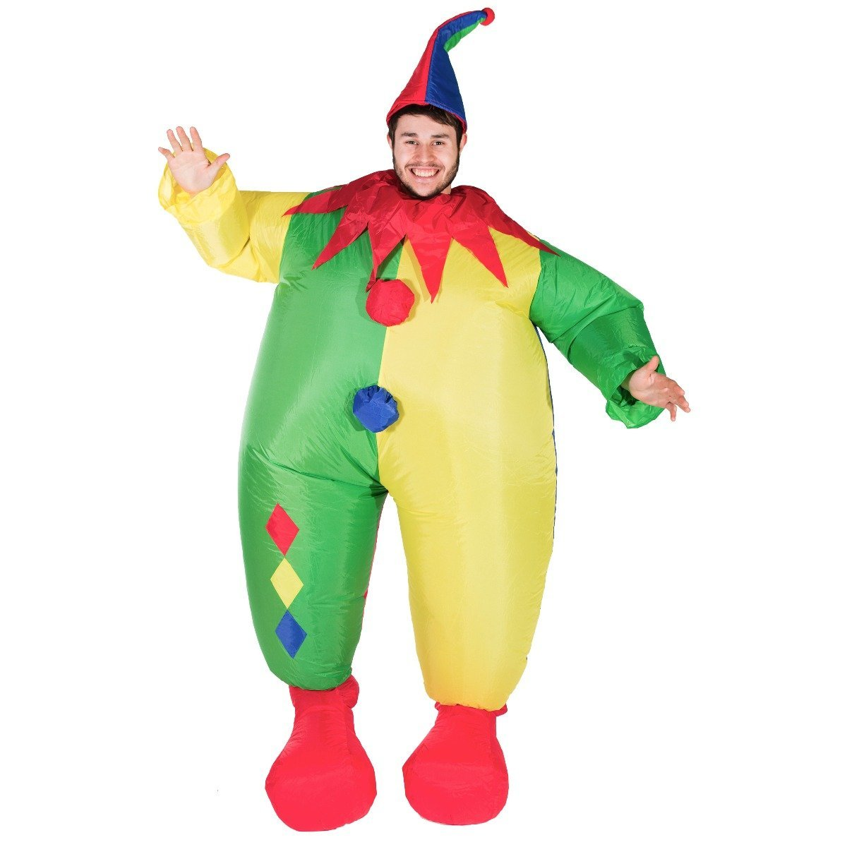 Bodysocks - Inflatable Clown Costume