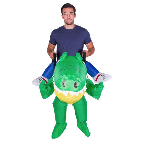 Inflatable Crocodile Costume