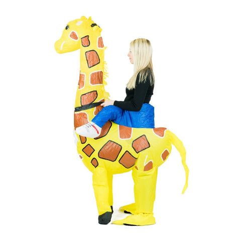 Inflatable Giraffe Costume