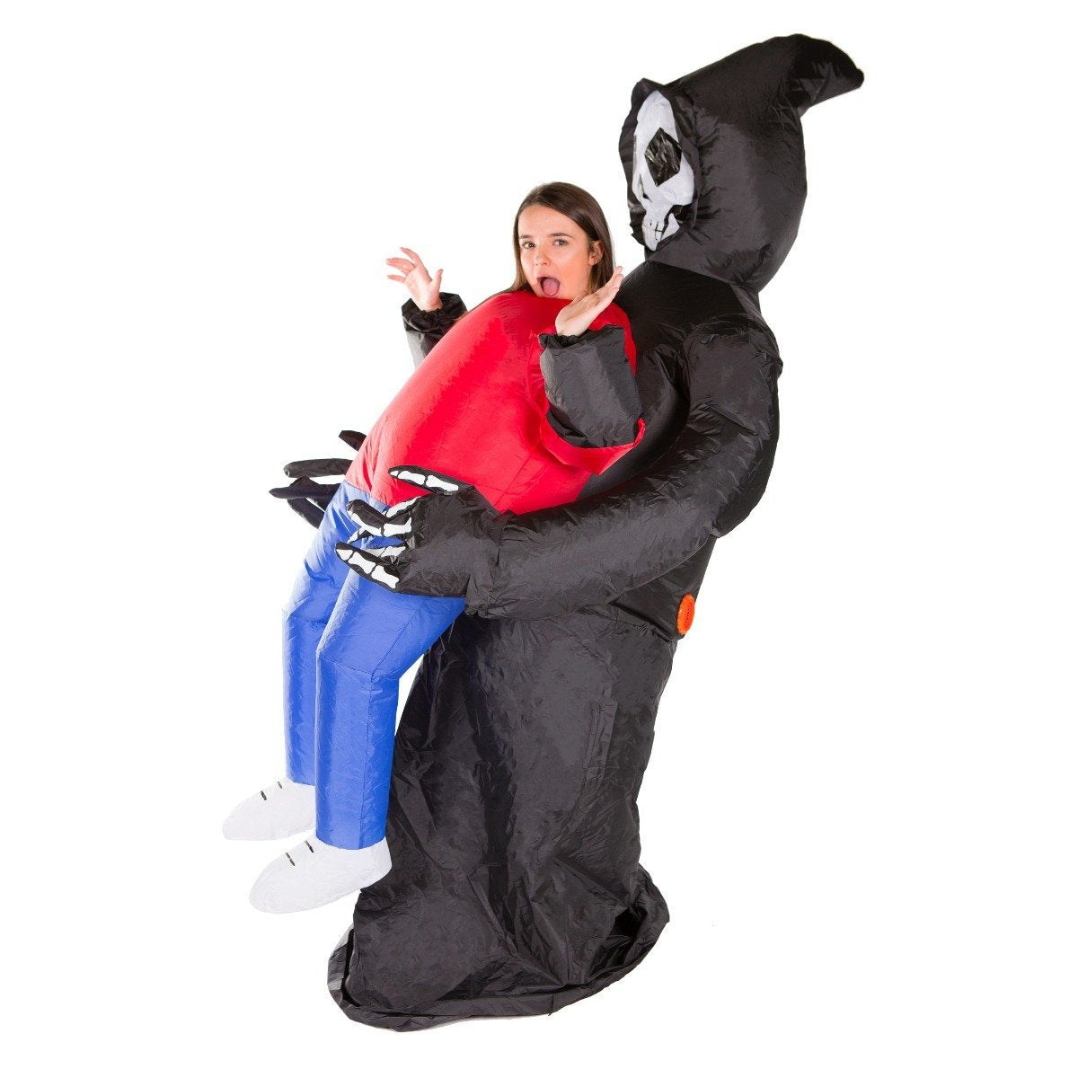 Bodysocks - Inflatable Lift You Up Grim Reaper Costume