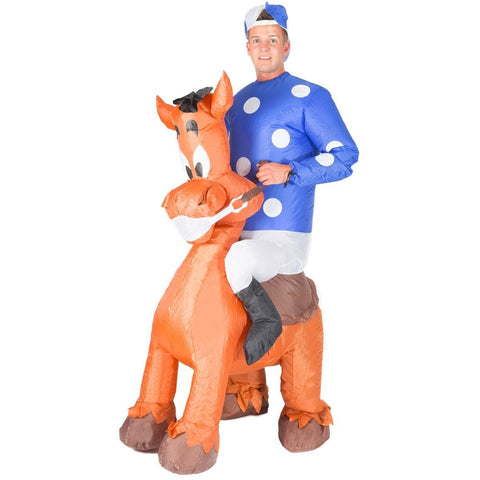 Bodysocks - Inflatable Jockey Costume