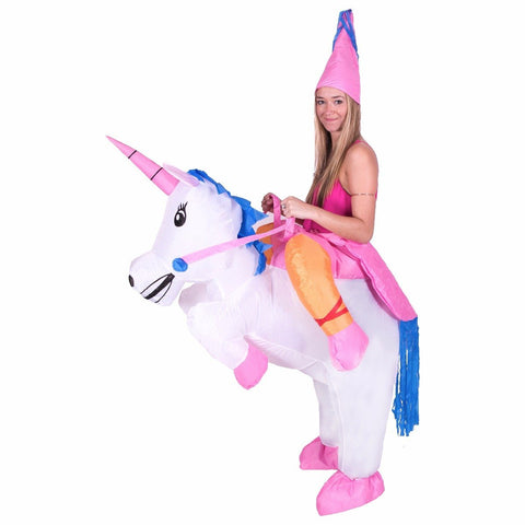 Bodysocks - Inflatable Lift You Up Unicorn Costume