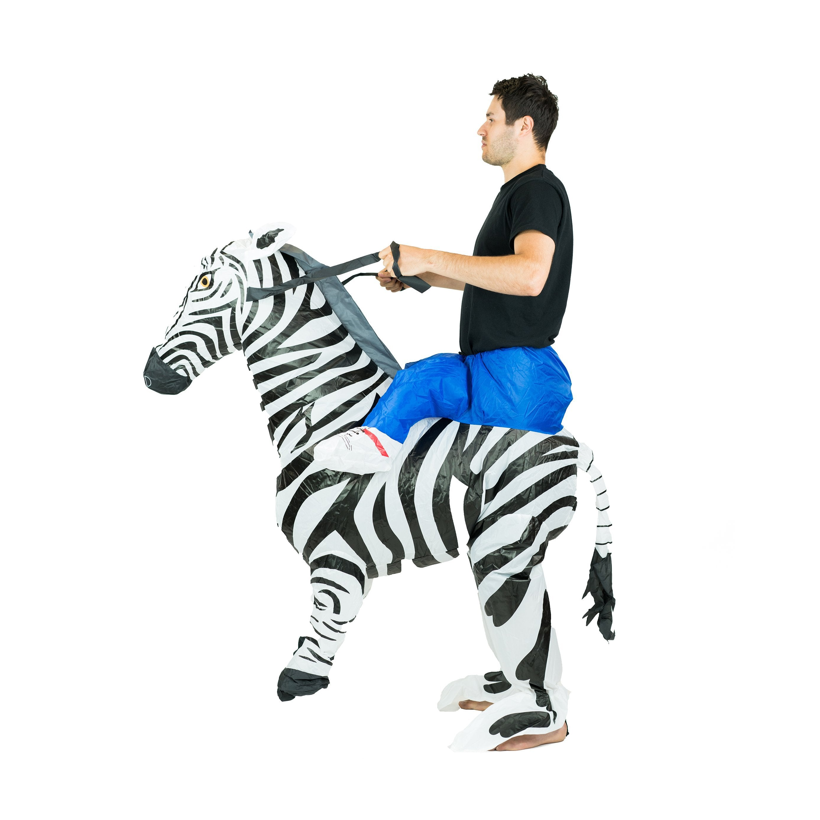 Bodysocks - Inflatable Zebra Costume