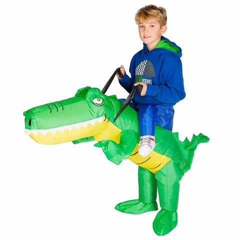 Bodysocks - Kids Inflatable Crocodile Costume