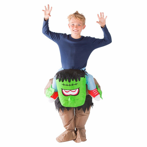 Bodysocks - Kids Lift You Up Inflatable Frankenstein Costume