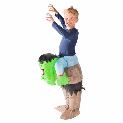 Kids Lift You Up Inflatable Frankenstein Costume