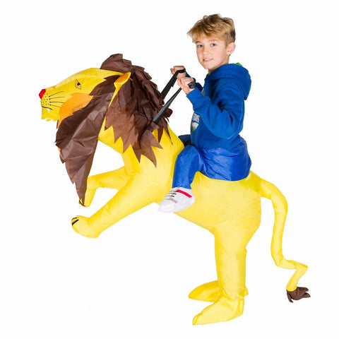 Bodysocks - Kids Inflatable Lion Costume