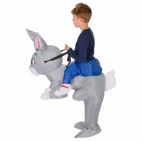 Kids Inflatable Rabbit Costume