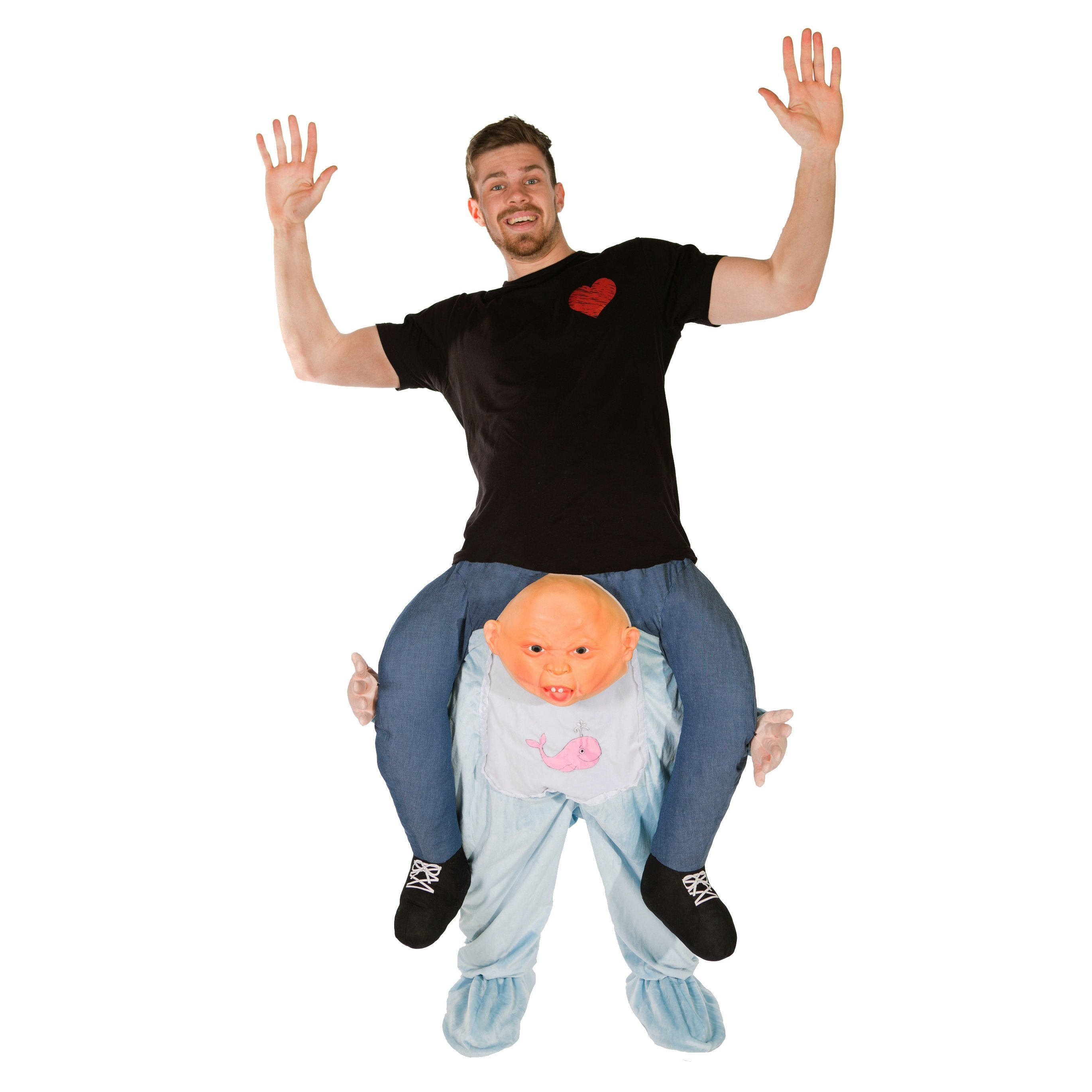 Bodysocks - Piggyback Baby Costume