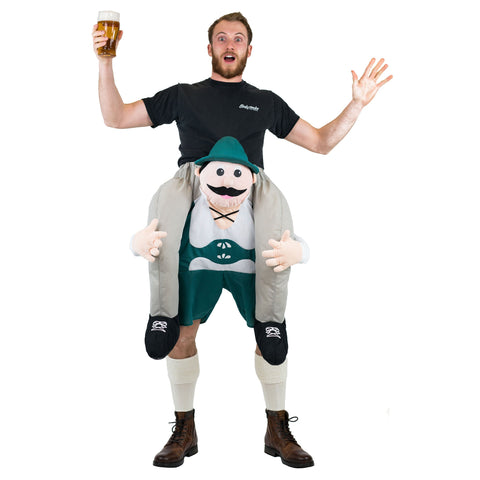 Bodysocks - Piggyback Lederhosen Costume