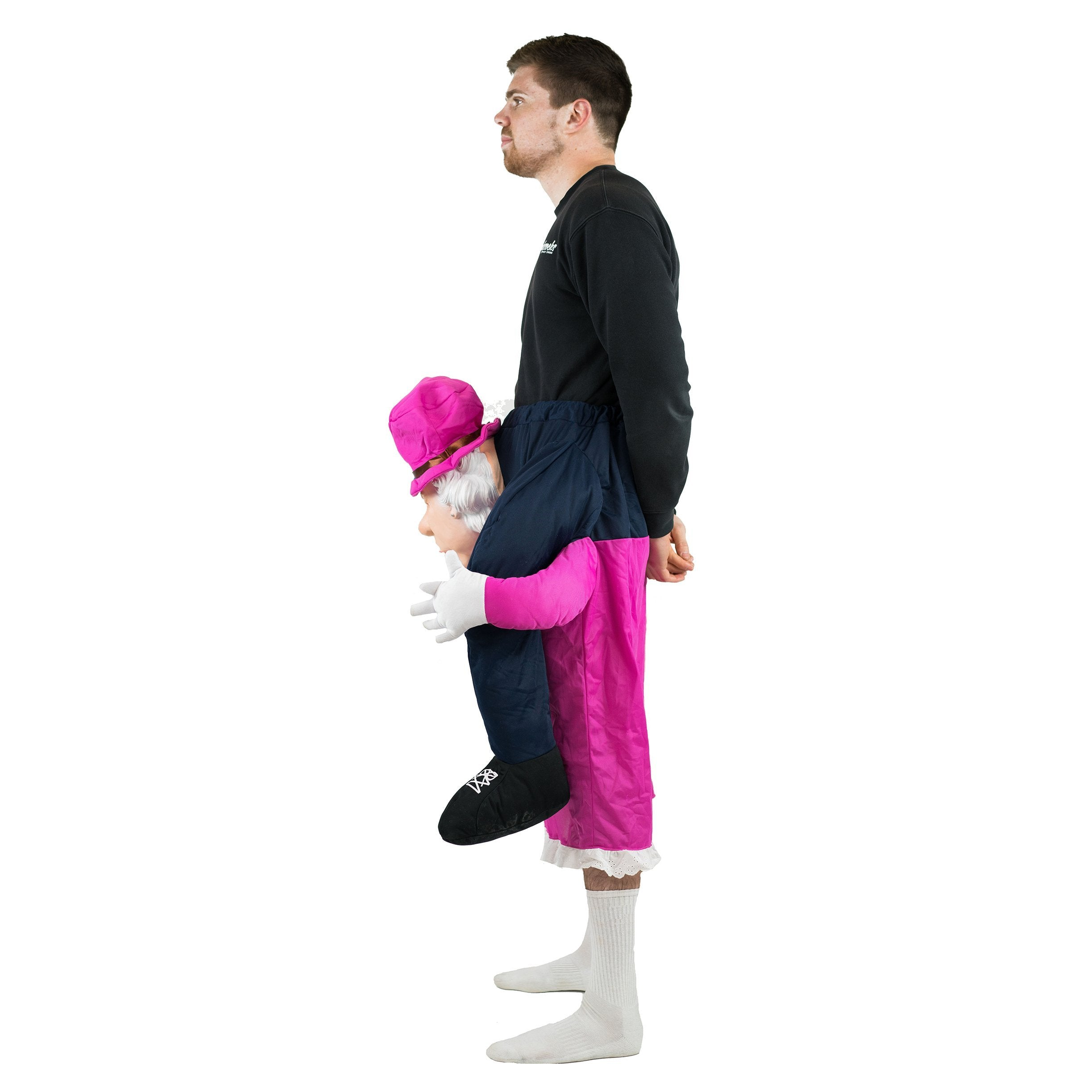 Bodysocks - Piggyback Queen Elizabeth Costume