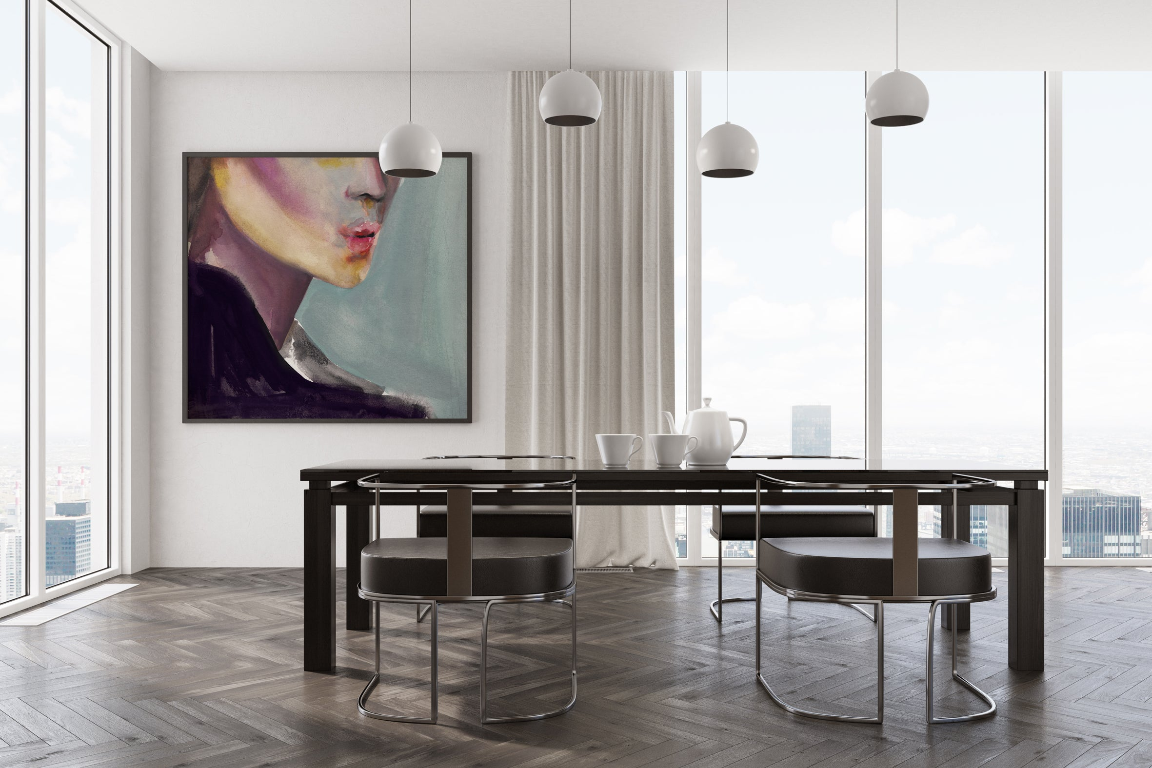 Happy and Contained in today interior design by Victoria Verbaan