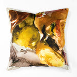 Anastasia Pather Marigold Oyster Velvet Scatter Cushion