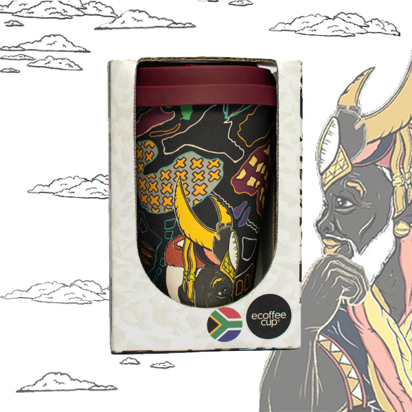 Zhi Zulu Mageba Reusable Coffee Cup
