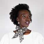 Twilly Twirly Wanderland Wonderland How to neck tie African Artist Design Leopard Zhi Zulu