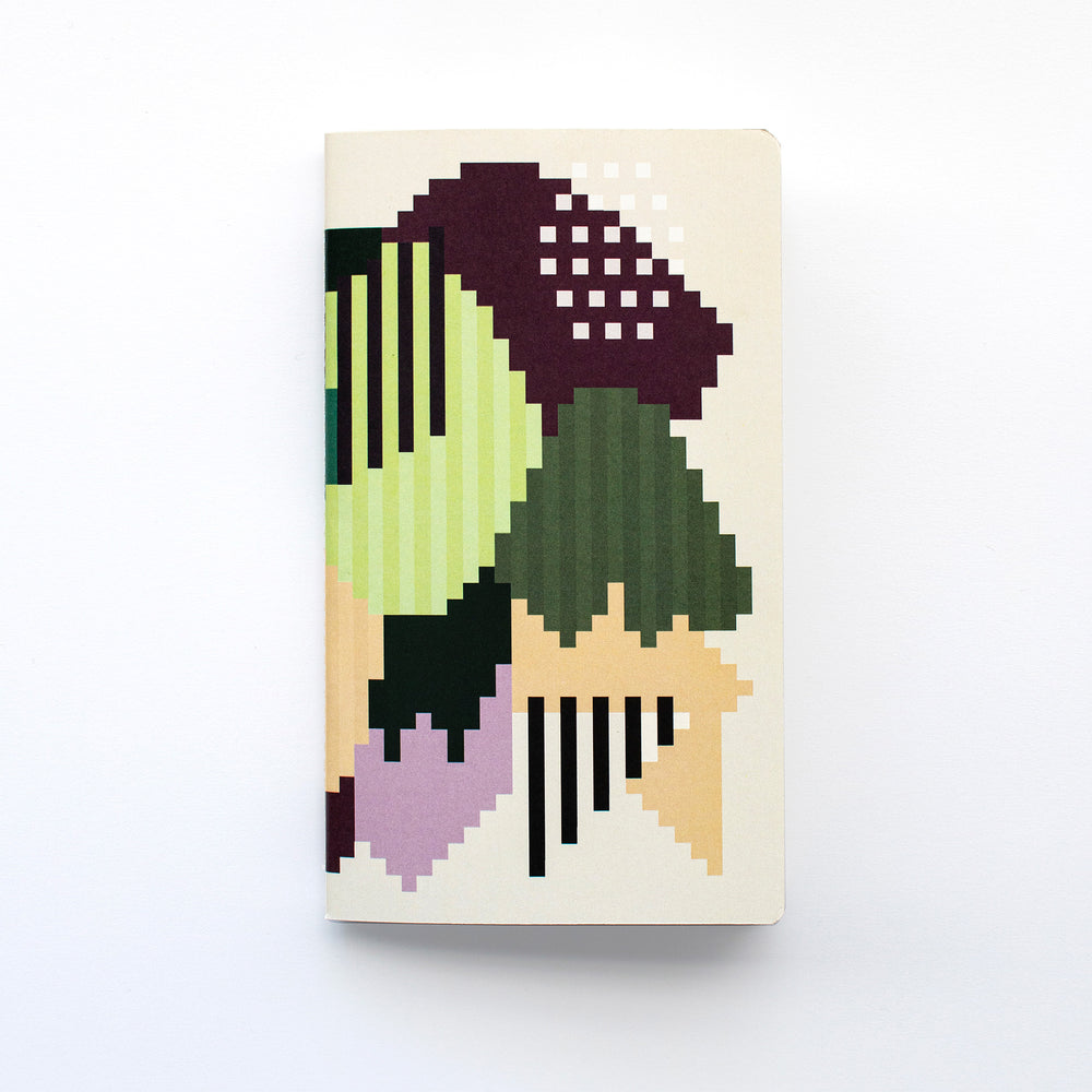 Set of 2 Plum Forest Notebooks