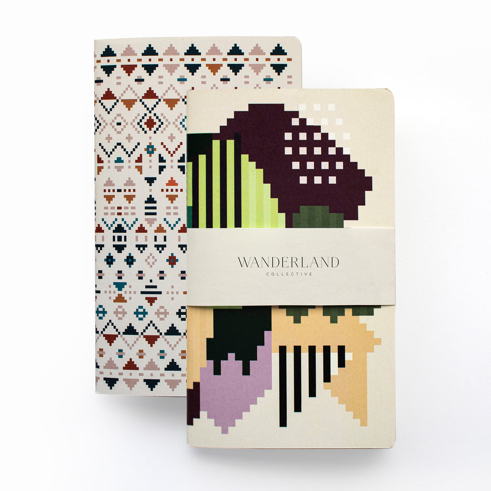 Set of 2 Faatimah Mohamed Luke & Mrs + Mr Luke Notebooks
