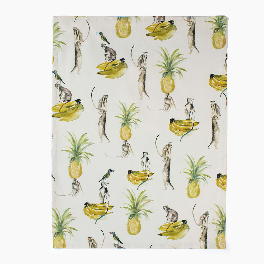Victoria Verbaan Monkey Tea Towel