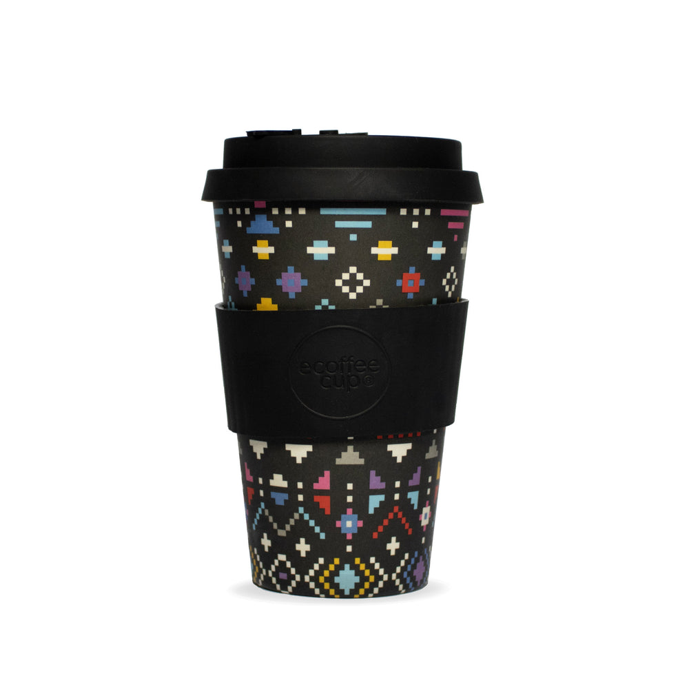 Reusable bamboo ecoffee travel cup wanderland faatimah africa environment